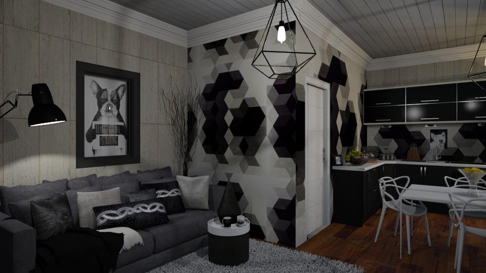 Sober Tones - Living room - by Brubs Schmitt