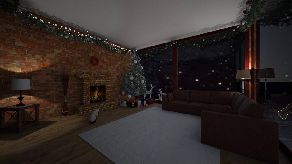 Cozy Christmas - by AlinaZ
