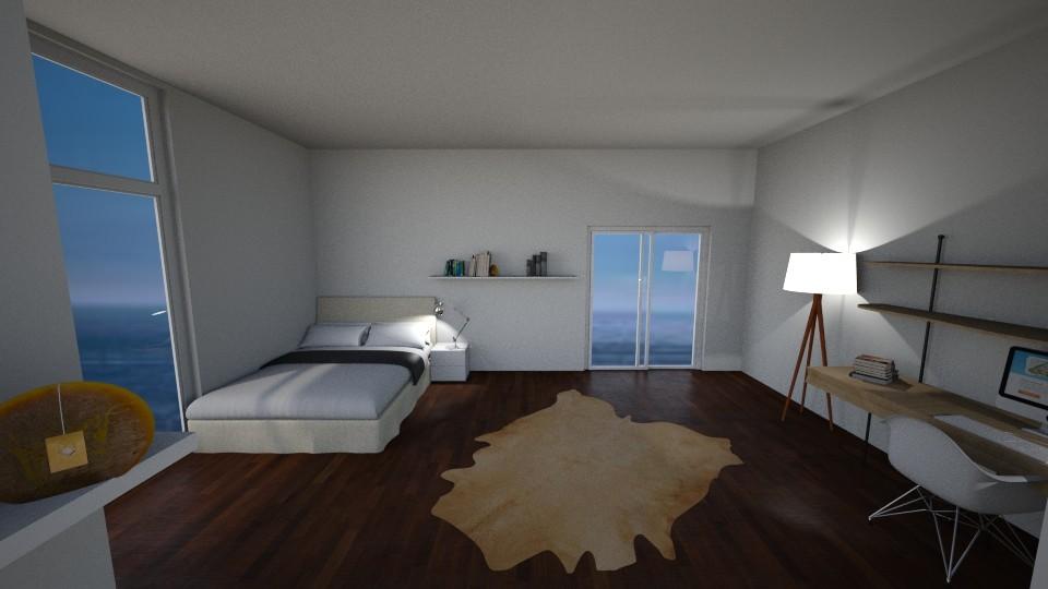 pretty  - Modern - Bedroom  - by katarinalaaksonen