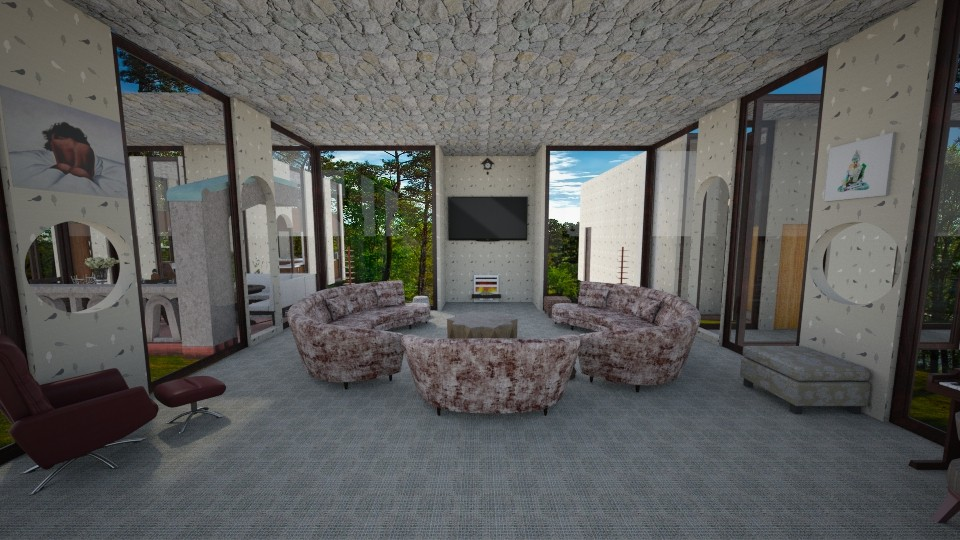 real1 - Living room - by Mannon