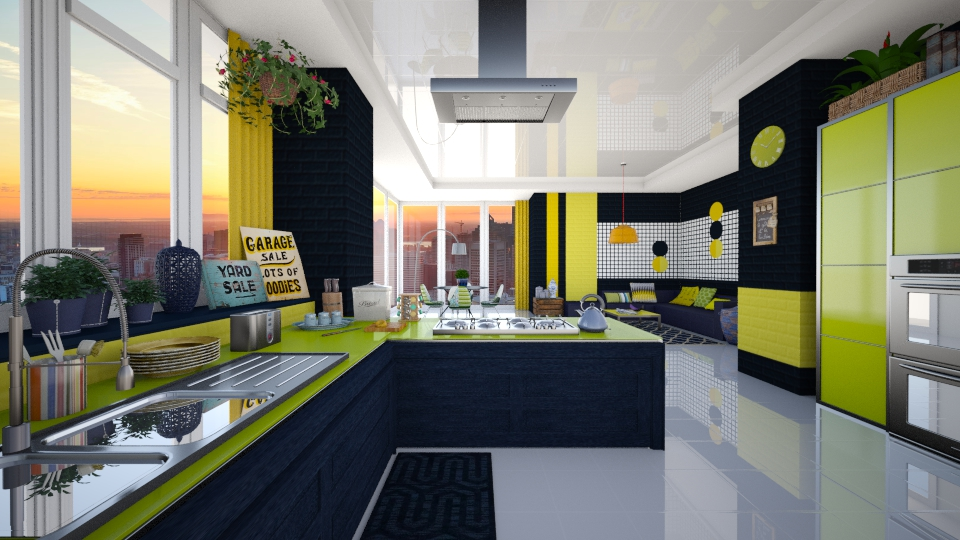 Kitchen - by Nufra