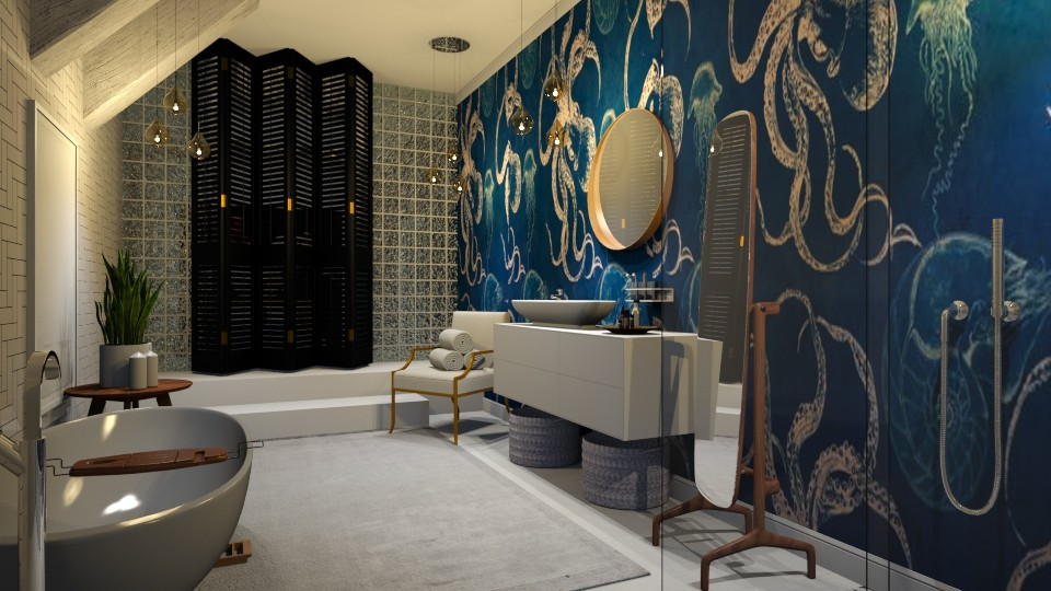 ocean - Bathroom - by Ripley86
