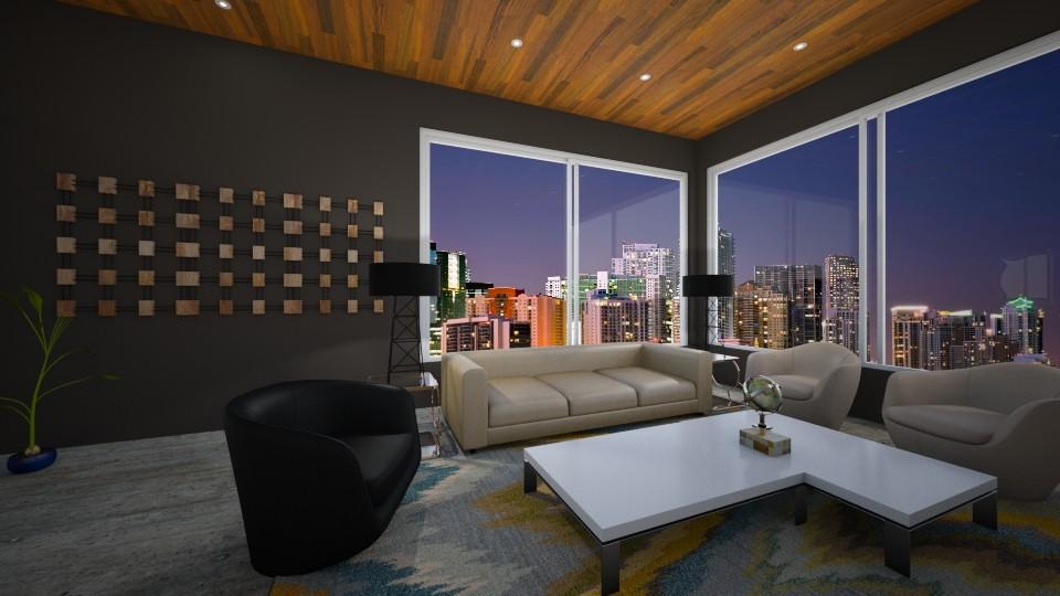 Dark days - Classic - Living room  - by Daisy de Arias