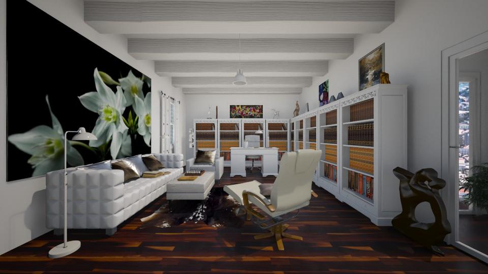 Home library - by Themis Aline Calcavecchia