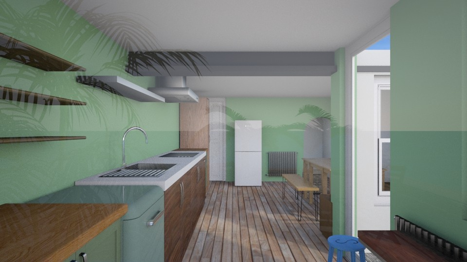 Open kitchen 1 - Kitchen  - by amerongomes