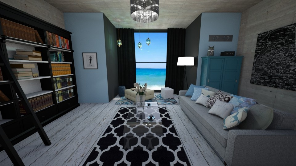 S - Living room - by Gosia1610