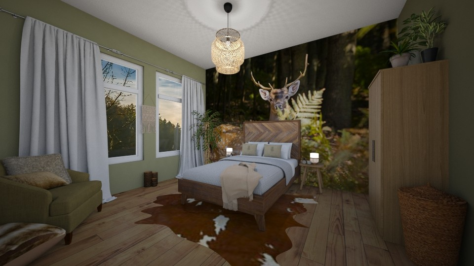 back to nature bedroom 2 - Bedroom  - by lecpris