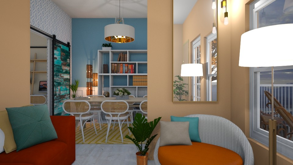 Bright Living - Living room - by _PeaceLady_