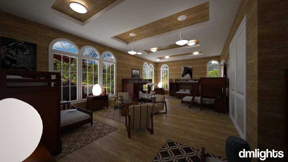 Republica  Estudantil  - Bedroom - by DMLights-user-994540
