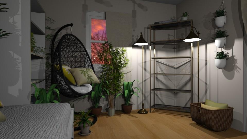 Lauras Bedroom 2019 - Minimal - Kids room - by lsrrzn