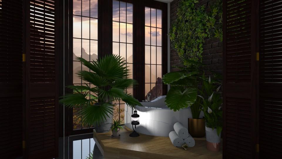 Lux bathroom - Bathroom - by Mist Wolf