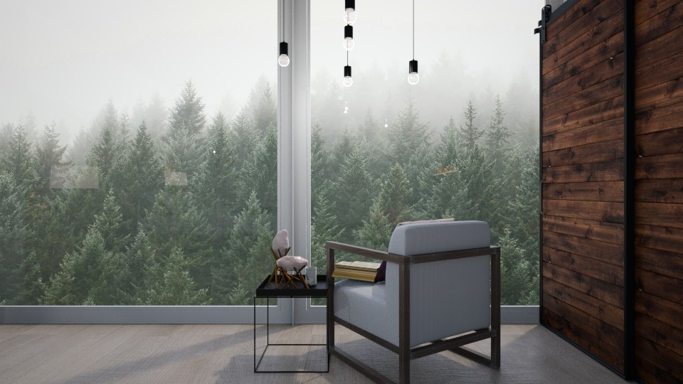 Pine Forest Bedroom - Bedroom  - by GinnyGranger394