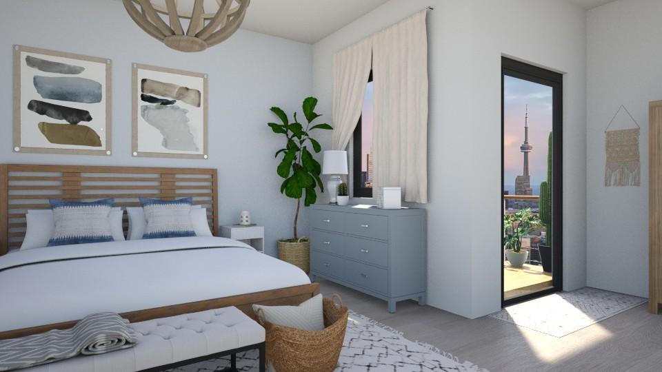 Calm Bedroom - Bedroom - by smunro7