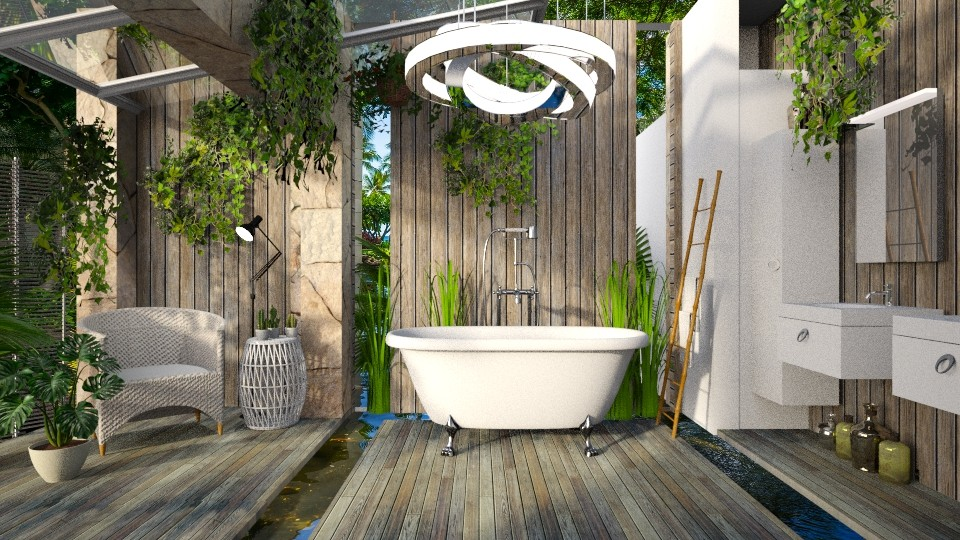 Bali - Rustic - Bathroom  - by LuzMa HL