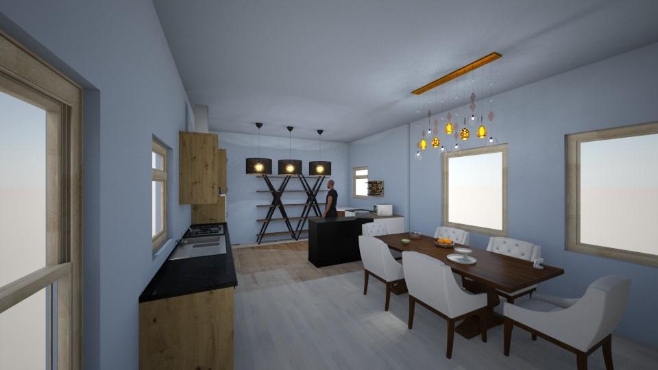 mystic mauve 5 - Kitchen - by o vivess