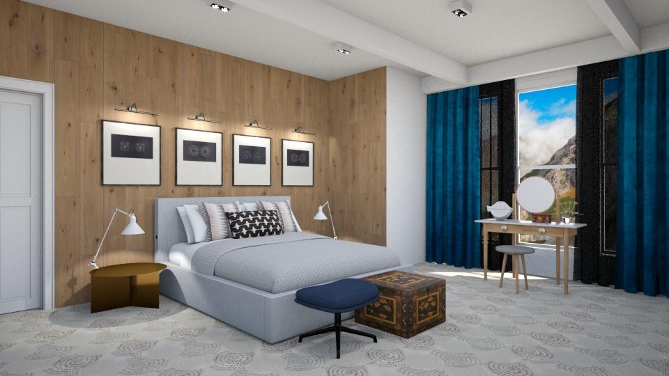 Sleep in the Mountains - Modern - Bedroom - by 3rdfloor