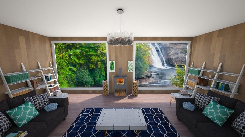 Cabin - Living room - by Cheyenne Stephenson_339