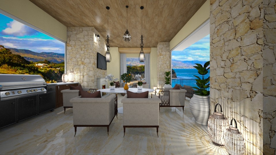 Santa Barbara Home - by JarkaK