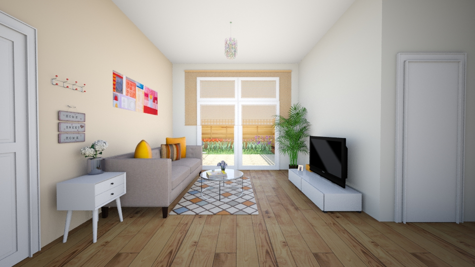melody Living room1 - Modern - Living room - by chenlei