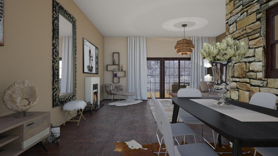 dnevna soba1 - Living room - by Gagany