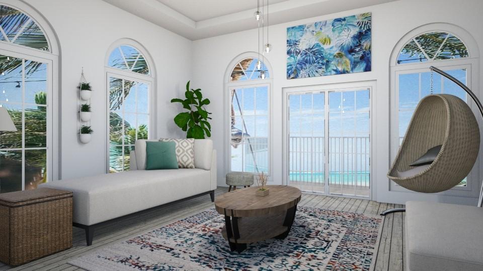 Beach Villa - by nabilacandra