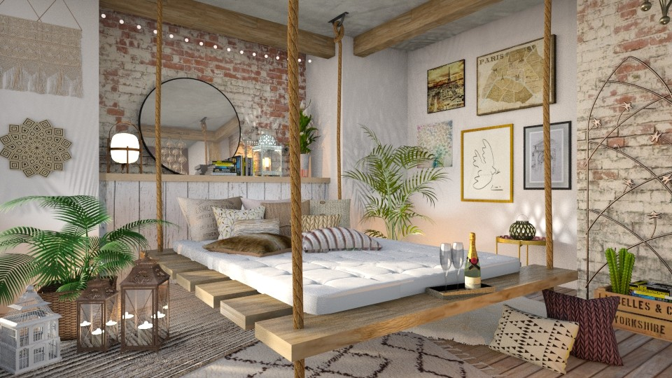 Boho Bedroom - Bedroom - by LB1981