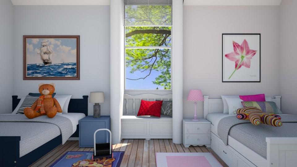bedroom - Kids room  - by Sanja Pipercic