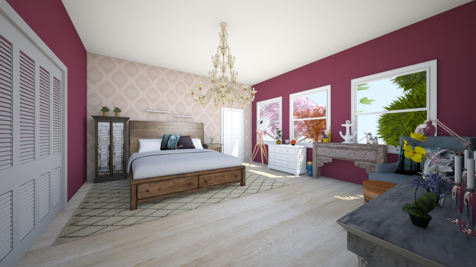 room - Modern - Bedroom - by Arianna Lanz
