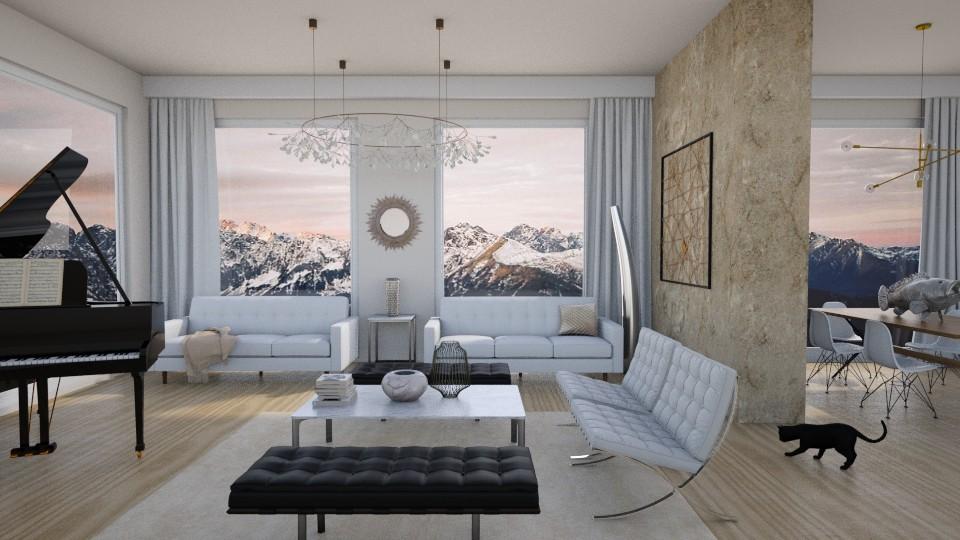 Lights - Living room - by annagunbina3
