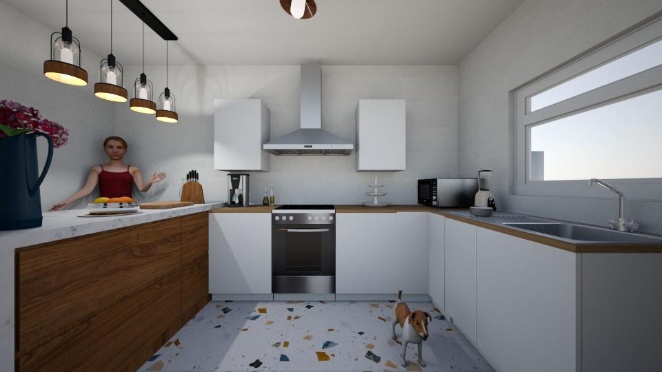 cocina - Kitchen - by Mariana ZV