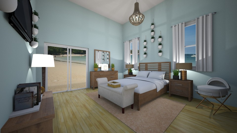 Beachside Bedroom - Country - Bedroom - by neverlanddesigns