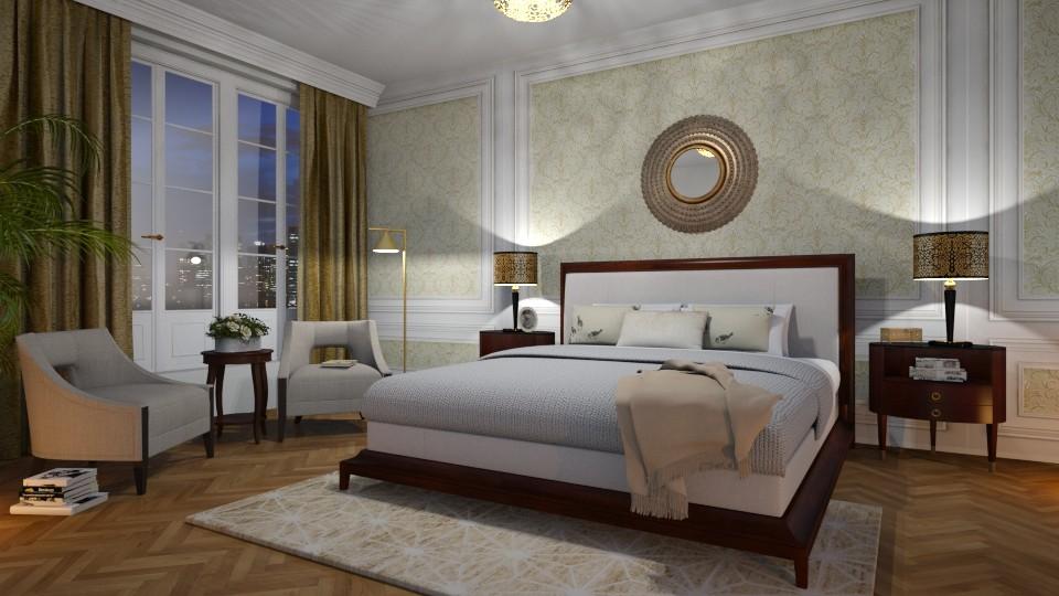 Baker - Bedroom  - by Valkhan