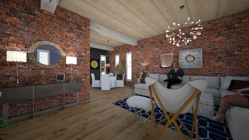 BRICK LOFT - by Jamee