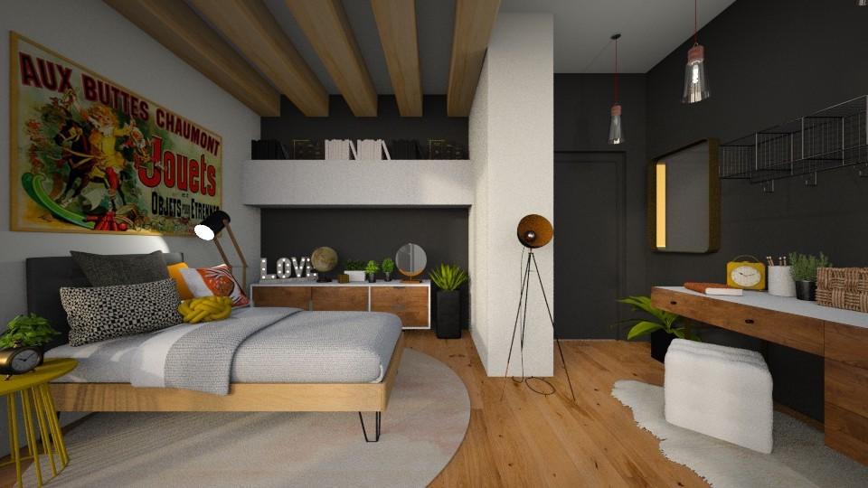 teenager 2 - Bedroom  - by MiaM