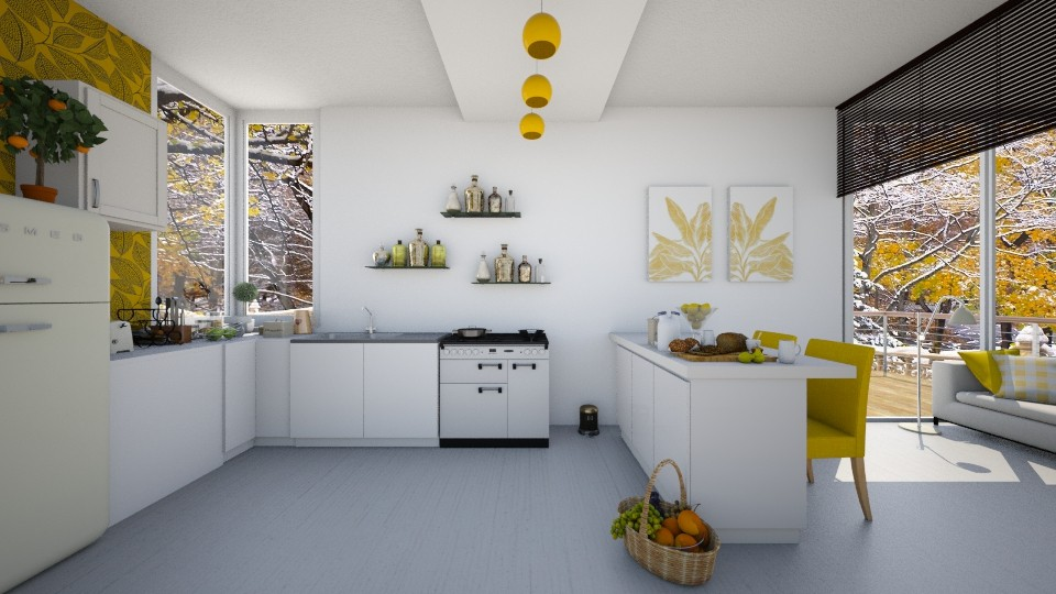 November cooking - Kitchen - by agapka