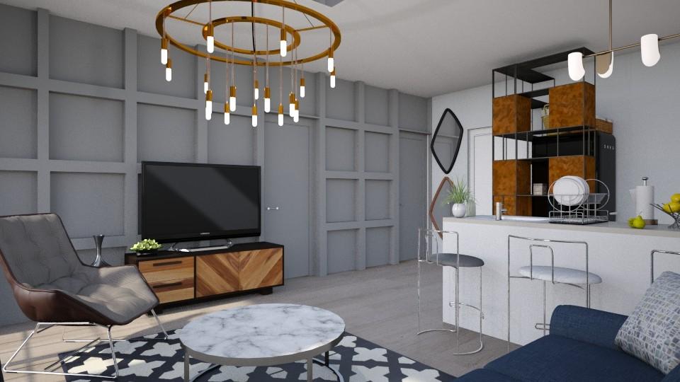 50sq c1 - Living room - by Aeea P