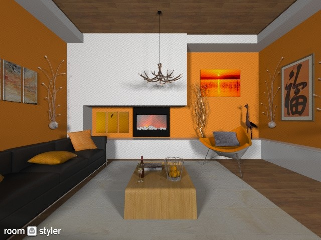 Autumnal - Modern - Living room  - by CassW