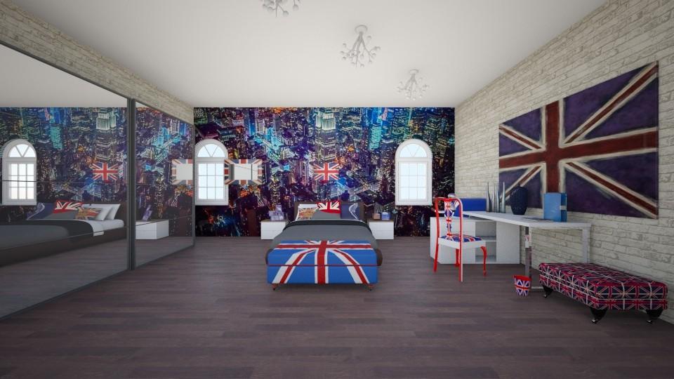 American - Bedroom - by Deni star