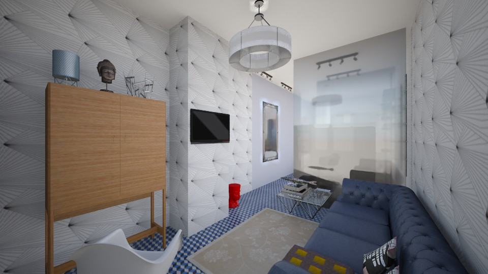 Single - Eclectic - Living room - by Masha Melnik
