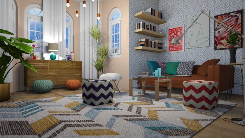Hispter Living Room 2 - by abbyt94