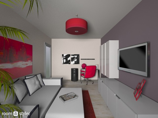 Gala_RED - Modern - Living room - by BUNA