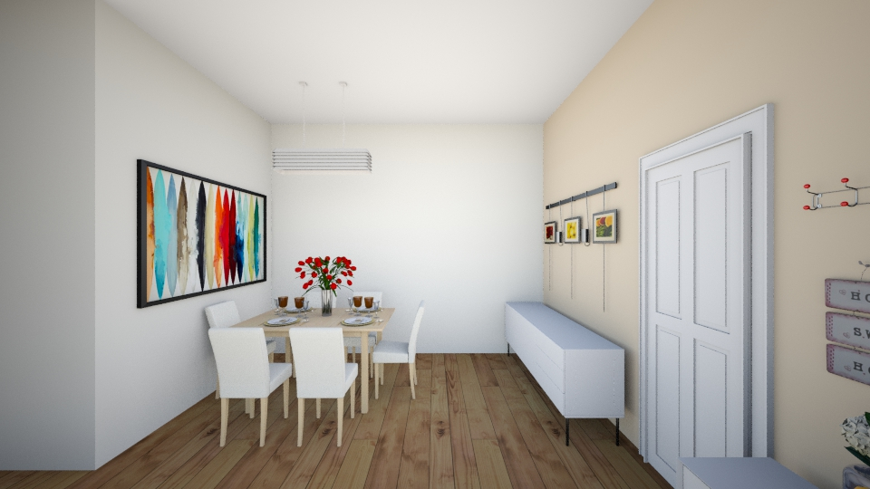 melody dining room - Modern - Living room - by chenlei