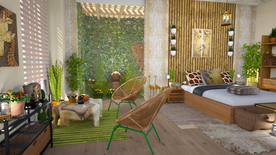 urban jungle modern  - Bedroom - by Moonpearl