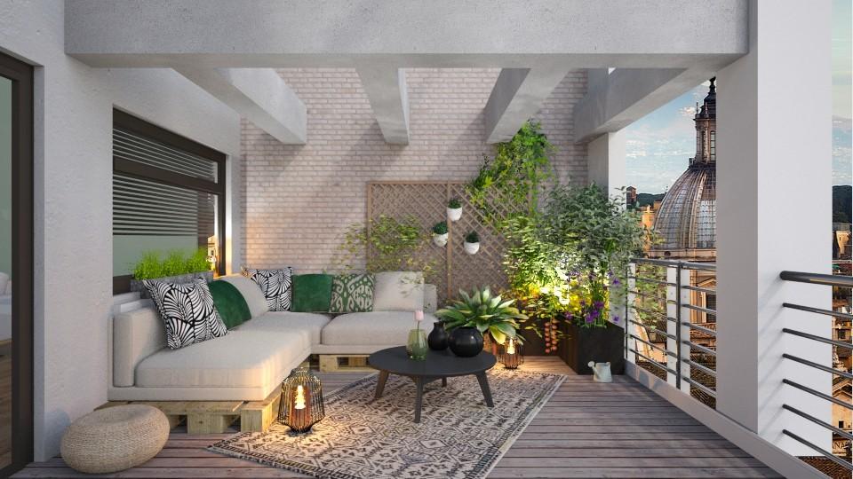 Balcon vegetal - Garden - by Mandine