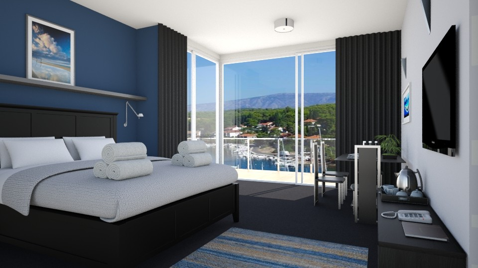 harbour style - Bedroom - by Phospective