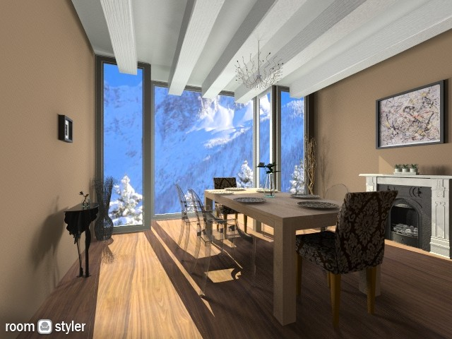 Dining1 - Dining room - by gabrielale