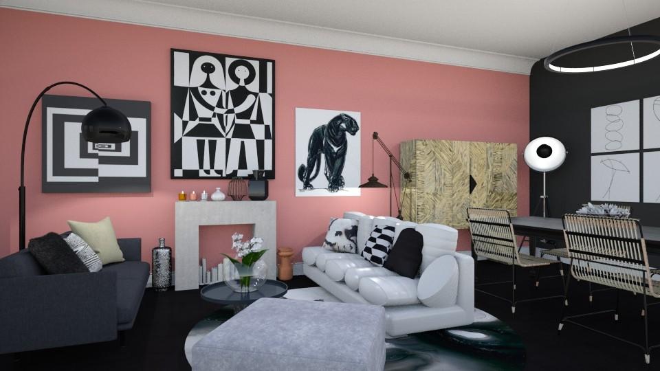 Room_4 - Living room  - by DagnyL