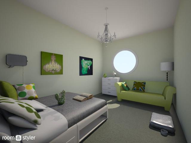 NakagiTeenRoom - Bedroom - by ivkIDEA