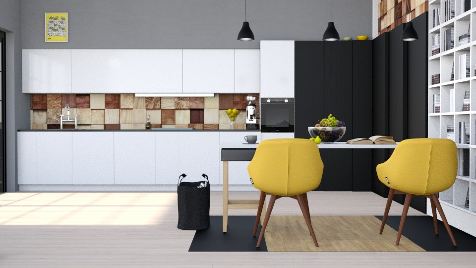 Eclectic - Kitchen - by ArtHousedeco