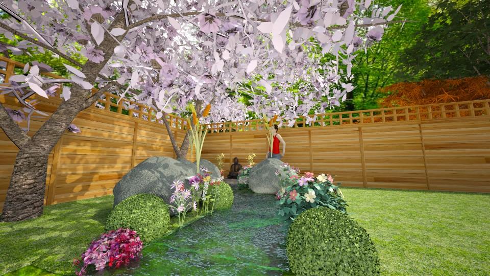 garden  - Classic - Garden - by BlueFede